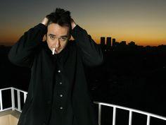 john cusack the view | john cusack, brunette, actor, cigarette, balcony, sunset