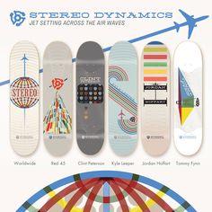 Stereo Skateboards - Dynamics Series