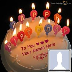 No Need To Search More For Unique And Special Birthday Wishes Write Name On Cake With