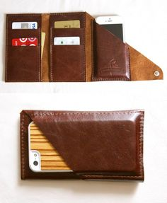 Wrap Wallet. I may need to make one of these...