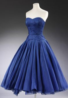 blue dress couture robebleue