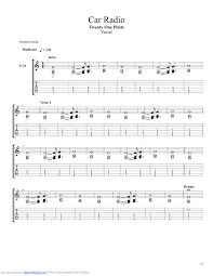 Twenty one pilots sheet music