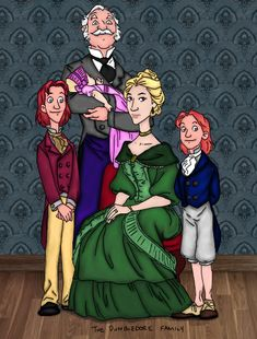 Dumbledore Family by yukimel on deviantART