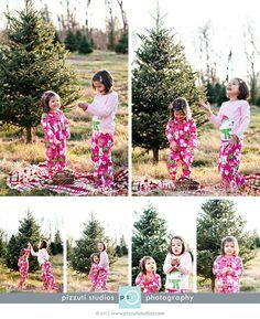 Christmas tree farm fun - Pizzuti Studios