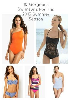 10 gorgeous swimsuits for the summer season
