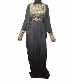 Farasha Abaya, Cold Shoulder Dress, Dresses With Sleeves, Long Sleeve, Fabric, Collection, Fashion, Tejido, Moda