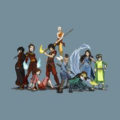 Avatar Aang, Avatar Airbender, The Last Airbender Anime, The Last Airbender Characters, Team Avatar, Avatar Cartoon, Avatar Funny, Avatar Poster, Avatar Picture