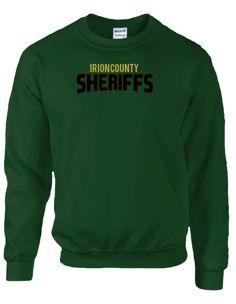 Irion County Sheriff's Office Gildan Dryblend Fleece Crew   KART KONG