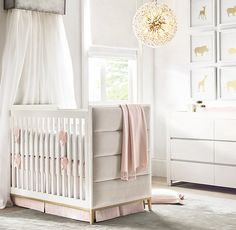 RH Baby & Child's Animal Silouhette Metallic Foil Art:Silhouettes of iconic animal favorites are printed in gold metallic foil for sophisticated shine. Make a singular statement or display as a group.