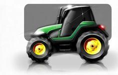 tractor concept sketch by diemais.deviantart.com on @DeviantArt