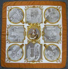 Hermes vintage foulard soie