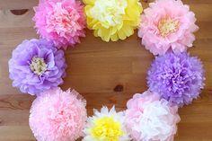 「お馴染みの【お花紙】で作れる可愛いモノ♪」 – mamagirl | ママガール