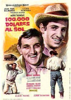 """Cien mil dólares al sol (1964) """"Cent mille dollars au soleil"""" de Henri Verneuil - tt0056917"""