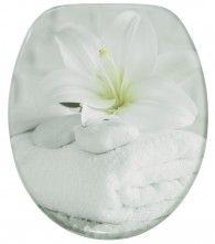 WC-Sitz mit Absenkautomatik Good Feeling Wc Sitz, Feel Good, Floral, Flowers, Lilac, Royal Icing Flowers, Flower, Flower, Florals