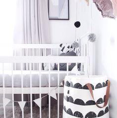 blondeandbone #nursery #babyroom #grey