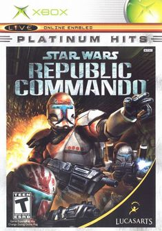 Star Wars Republic Commando (Xbox) (Pre-Played - Game Only) Star Wars Jedi, Star Wars Film, Final Fantasy, Playstation, Sims 4 City Living, Sims 4 Expansions, Republic Commando, Electronic Arts, Elite Squad