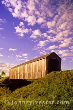 covered bridge;Hopewell;New Brunswick;Canada;landscape;scenic;clouds;rural;country