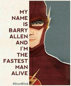 The Flash (TV series ) Grant Gustin as Barry Allen. Heros Comics, Marvel Dc Comics, Batman, Superman, Flash Tv, The Flash Poster, The Flash Art, The Flash Quotes, Berry Allen
