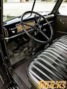 1946 Chevy Pickup Truck Stock Interior