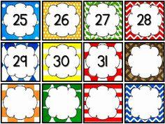 ...Το Νηπιαγωγείο μ' αρέσει πιο πολύ.: Κάρτες για ημερολόγιο Preschool Themes, Preschool Classroom, In Kindergarten, Classroom Decor, Classroom Organization, Classroom Management, Free Monkey, Calendar Numbers, Classroom Calendar