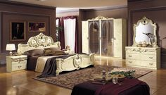 Ideas for  bedroom with Baroque home interior design