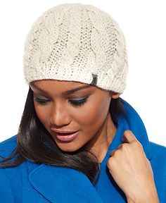 The North Face Cable-Knit Beanie Women - Women s Brands - Macy s 16247944b66