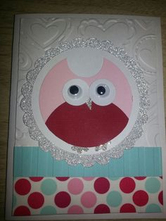 """Terrific Tuesday card class at the COOP.  """"Like"""" 3 Craft Chicks on facebook!!!"""