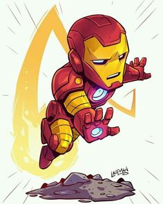 Drawing Marvel chibi ironman by - Fan Art Friday: The Delightful Geek Stylings Of Derek Laufman Chibi Marvel, Marvel Art, Marvel Dc Comics, Marvel Heroes, Marvel Avengers, Chibi Superhero, Character Drawing, Comic Character, Comic Books Art