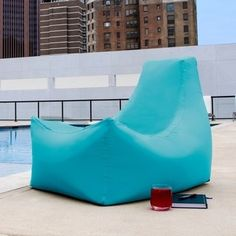 Jaxx Juniper Indoor/ Outdoor Patio Bean Bag Chair
