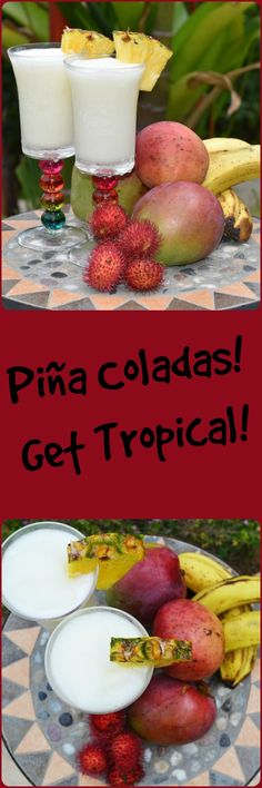 What a treat! Piña Coladas! Great anytime of year!