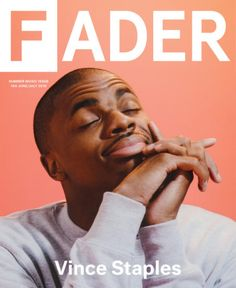 Vince Staples Covers FADER