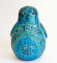 Bitossi Rimini Blue Penguin