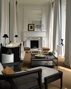 Living Room White, White Rooms, New Living Room, Living Room Interior, Home Interior Design, Living Room Furniture, Living Room Decor, Interior Modern, Furniture Decor