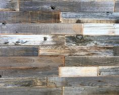 Check out our reclaimed shiplap boards selection for the very best in unique or custom, handmade pieces from our craft supplies & tools shops. Rustic Wood Walls, Reclaimed Barn Wood, Weathered Wood, Wood Wood, Curved Pergola, Pergola Attached To House, Shiplap Boards, Wood Boards, Wooden Accent Wall