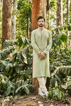 Indian Menswear, Ethnic Suit, Mens Kurta Designs, Waist Coat, Indian Men Fashion, Anita Dongre, Indian Groom, Sherwani, Uncut Diamond
