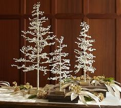 Faceted Jewel Tree #potterybarn
