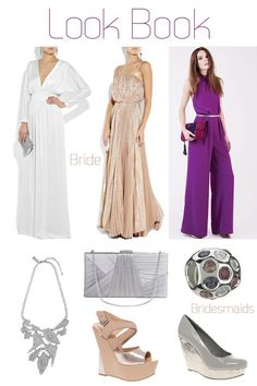 Retro Disco Chic wedding inspiration board...