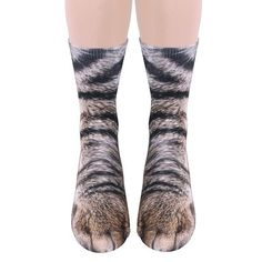 Sublimated Paw Crew Socks at What on Earth | CT8119