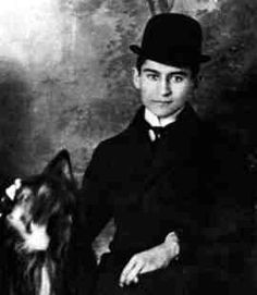 "This is Franz Kafka, the author of ""The Metamorphisis."" He was a German writer of novels and short stories. Kafka is known as one of the best writers of literature. Writers And Poets, Writers Write, Book Writer, Book Authors, Robert Mapplethorpe, Annie Leibovitz, People Of Interest, Portraits, Jolie Photo"