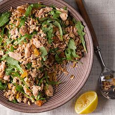Sicilian Farro and Tuna Salad