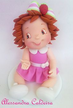 Moranguinho baby - by Atelier Alessandra Caldeira, via Flickr