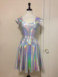 Unicorn Love Skater Dress – Gold Stitches <3