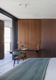 Modern Interior, Interior Architecture, Interior Design, Loft Design, House Design, Mid Century Modern Living Room, Guest Room Office, Minimalist Home, Home And Living