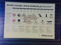 Great little summary of #iceland a the airport