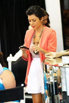 coral blazer.#Repin By:Pinterest++ for iPad#