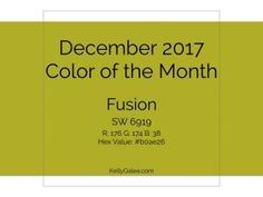 Color of the Month -