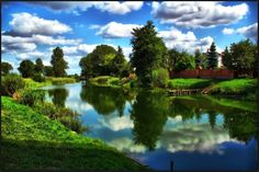 river Notec in Barcin - Poland