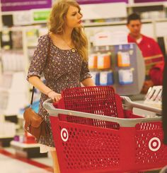 Tay shops at Target. Cause she's cool like that.
