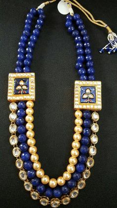 Indian royal Rajasthani meena Kari work. by EthnicTreasureJewels