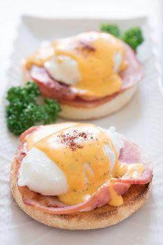 eggs benedict - delish!!